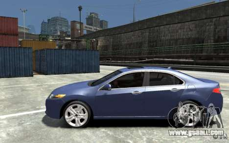 Acura TSX 2011 for GTA 4 left view