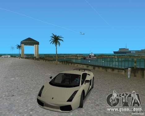Lamborghini Gallardo Superleggera for GTA Vice City