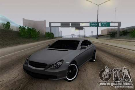 Mercedes-Benz CLS 63 AMG for GTA San Andreas left view