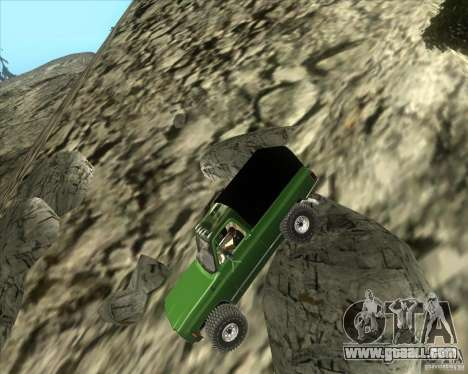Chevrolet K5 Ute Rock Crawler for GTA San Andreas