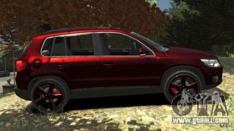 Volkswagen Tiguan 2012 for GTA 4 left view