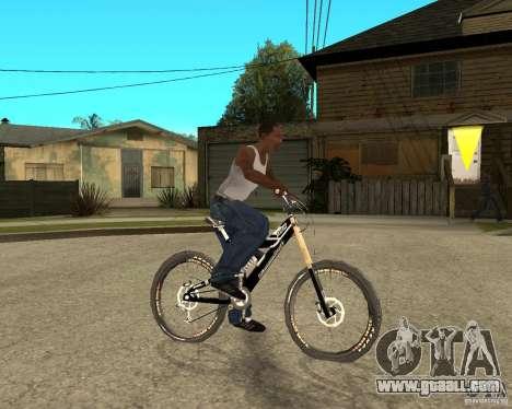 Diamondback strike Beta for GTA San Andreas right view