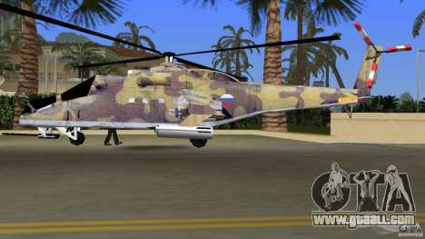 Mi-24 HindB for GTA Vice City inner view