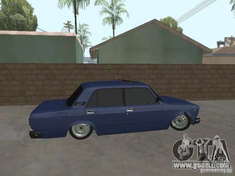 VAZ 2107 v2 for GTA San Andreas left view