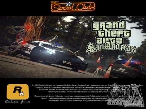 New loading screens 2011 for GTA San Andreas third screenshot