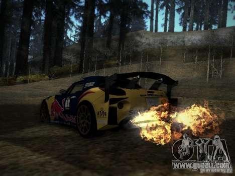 Pontiac Solstice Redbull Drift v2 for GTA San Andreas back left view