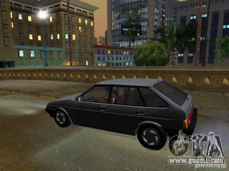 Vaz 2109 Sputnik for GTA San Andreas back left view