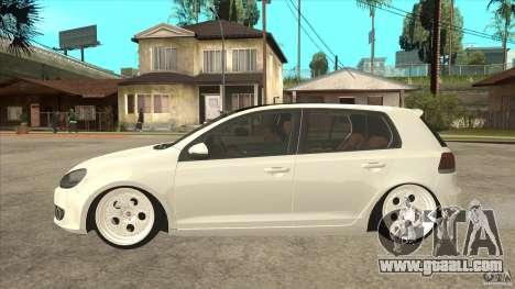 Volkswagen Golf VI 2010 Stance Nation for GTA San Andreas left view