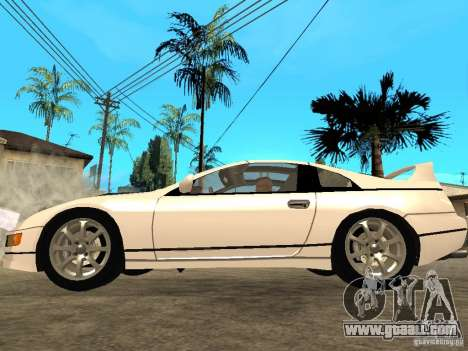 Nissan 300 ZX for GTA San Andreas left view