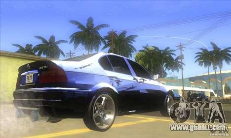 BMW 325i E46 v2.0 for GTA San Andreas back left view