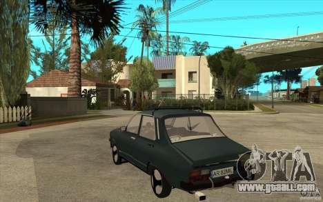 Dacia 1300 Cocalaro Tzaraneasca for GTA San Andreas back left view
