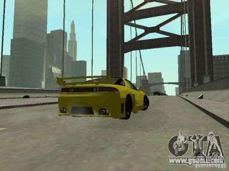 Mitsubishi 3000GT for GTA San Andreas inner view
