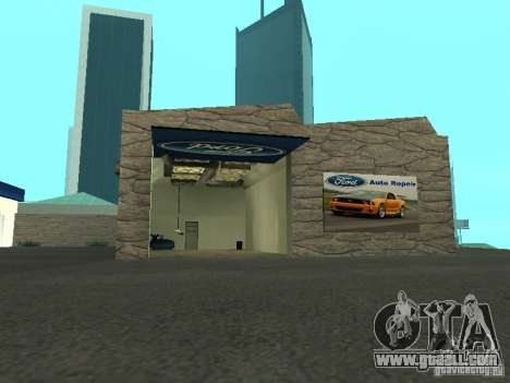 Auto Show Ford for GTA San Andreas second screenshot