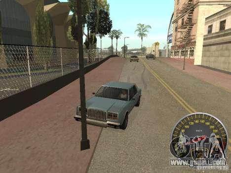 Lamborghini Speedometer for GTA San Andreas third screenshot