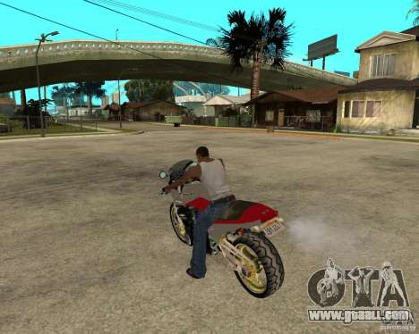 Kawasaki Ninja Tuning for GTA San Andreas left view