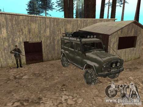 UAZ-31519 from COD MW2 for GTA San Andreas upper view
