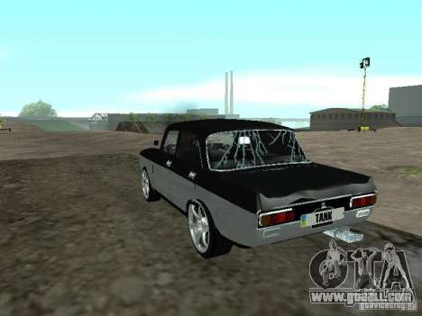AZLK Moskvich 2140 Light Tuning for GTA San Andreas side view