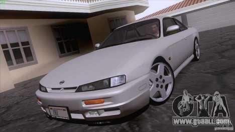Nissan Silvia S14 Kouki for GTA San Andreas back left view
