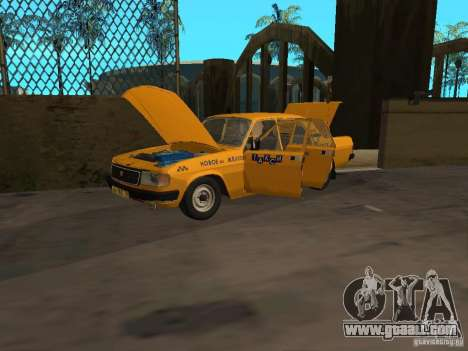 GAZ 31029 Taxi for GTA San Andreas right view