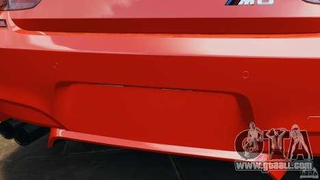 BMW M6 F13 2013 v1.0 for GTA 4 interior