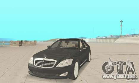 Mercedes-Benz S500 (w221) 2006 for GTA San Andreas