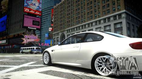 BMW M3 GT-S for GTA 4 back view