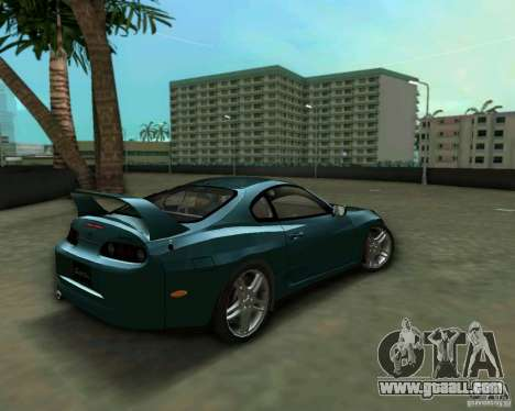 Toyota Supra for GTA Vice City back left view