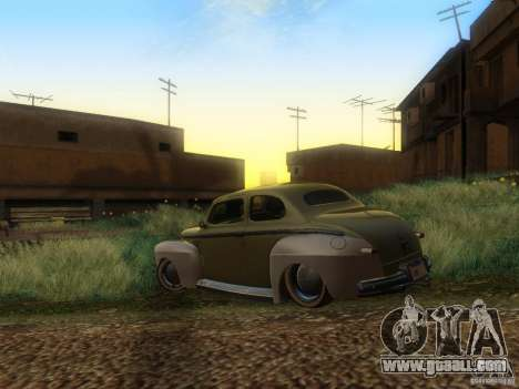 Ford Coupe 1946 Mild Custom for GTA San Andreas left view