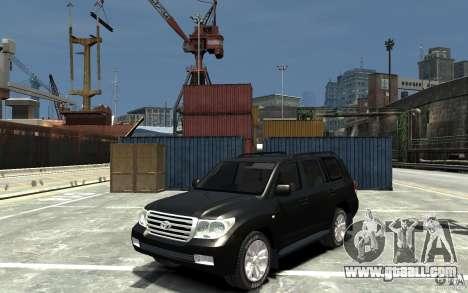 Toyota Land Cruiser 200 for GTA 4