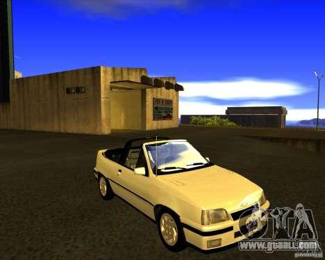Chevrolet Kadett GSI 2.0 Conversivel (1991-1995) for GTA San Andreas back view
