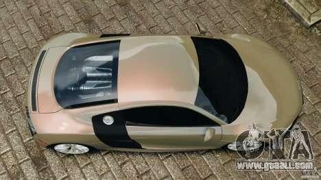Audi R8 V10 2010 for GTA 4 right view
