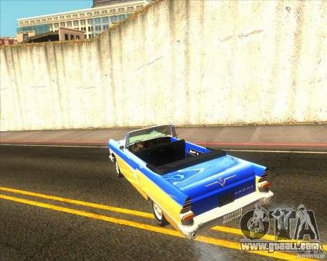 GAZ Chaika 13B for GTA San Andreas left view