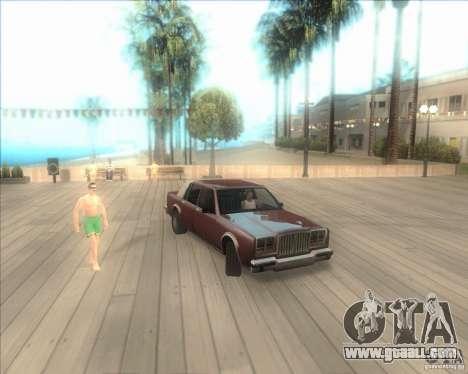 My settings ENBSeries HD for GTA San Andreas