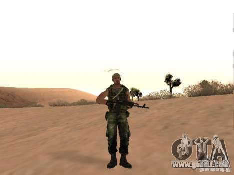 Russian Commando for GTA San Andreas second screenshot