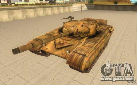 Tank t-72 for GTA San Andreas