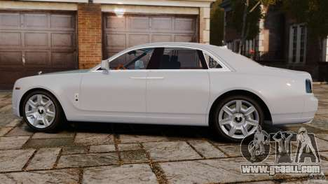 Rolls-Royce Ghost 2012 for GTA 4 left view