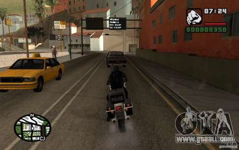Blackwatch from Prototype for GTA San Andreas forth screenshot