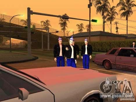 Skins Gopnik for GTA San Andreas third screenshot