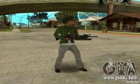 M16A4 + M203 for GTA San Andreas forth screenshot