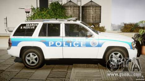 Chevrolet Trailblazer Police V1.5PD [ELS] for GTA 4 inner view