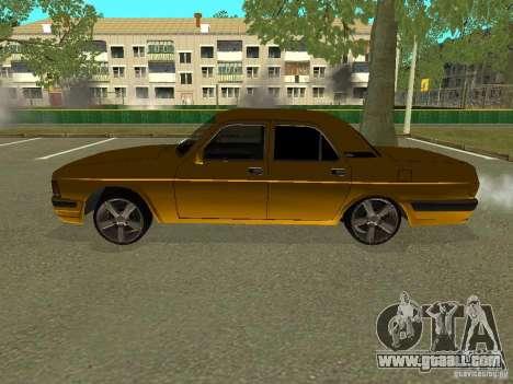 GAZ Volga 3102 for GTA San Andreas left view