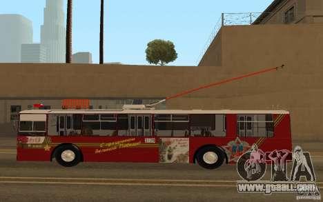 ZiU 682 for GTA San Andreas left view