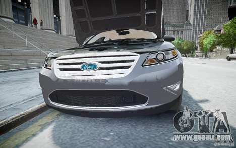 Ford Taurus SHO 2010 for GTA 4 right view