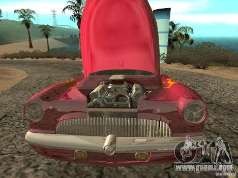 Buick Custom 1950 LowRider 1.0 for GTA San Andreas inner view