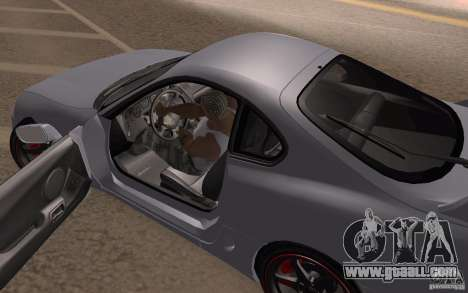 Toyota Supra Mark IV for GTA San Andreas back view