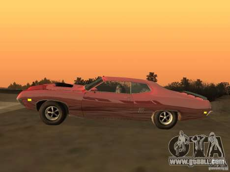 Ford Torino Cobra 1970 Tunable for GTA San Andreas left view