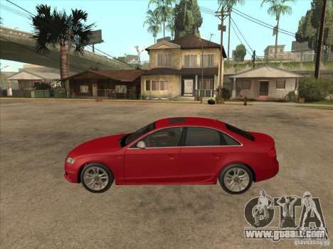 Audi S4 2010 for GTA San Andreas left view