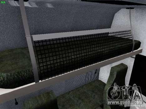 Scania R580 V8 Topline for GTA San Andreas bottom view