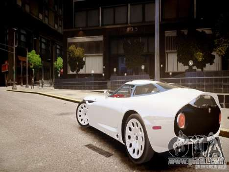 Alfa Romeo TZ3 Stradale Zagato for GTA 4 back left view