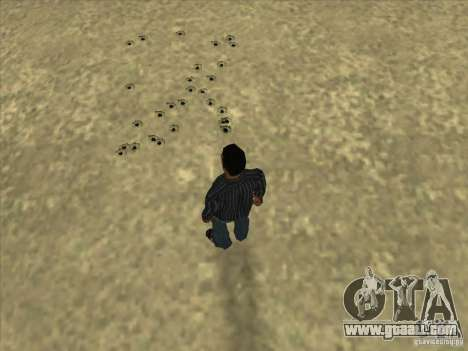Holes from bullets for GTA San Andreas